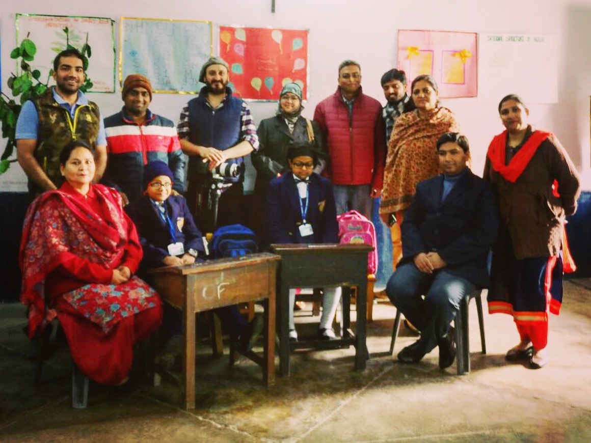 The #brilliant #teachers and #children along with their #parents, at the #department of #education for #special #children. #christ #church #school #lucknow